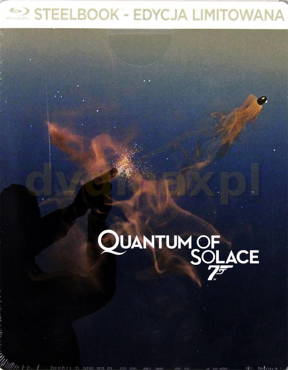 c8ca3c796935cf Film Blu-ray 007 Quantum of Solace (Steelbook) (Blu-ray) - Ceny i ...