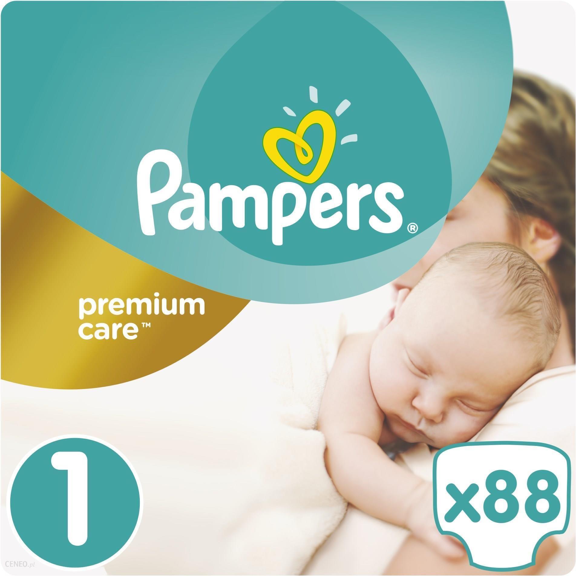 2baad417cd482 Pampers Premium Care rozmiar 1 (Newborn), 2–5 kg, 88 pieluszek ...