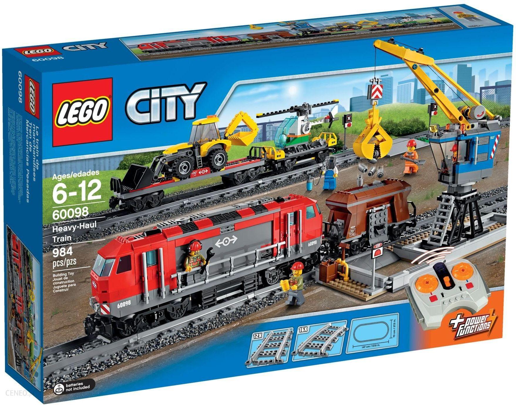 Klocki Lego City Pociąg Towarowy 60098 Gdynia Sklepy Ceny I