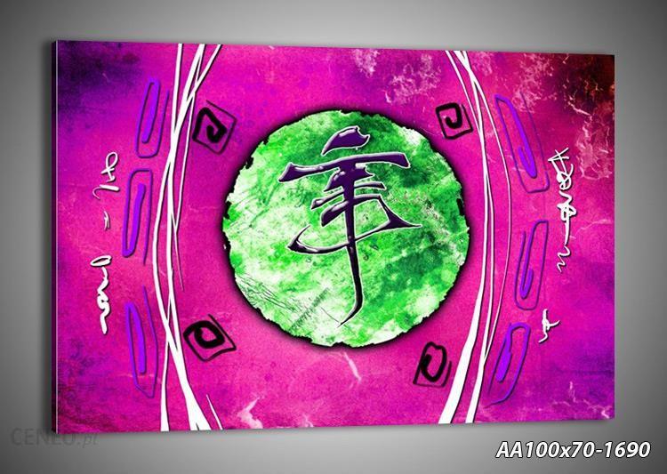 Arttor Modern Art Kompozycja Chińska Litera Wpisana W Okrąg Z