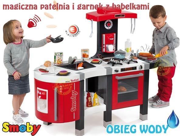 Smoby Kuchnia Z Obiegiem Wody Tefal French Touch 311203