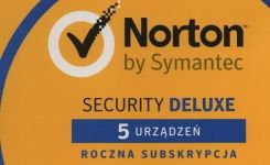 Symantec Norton Security Deluxe 3.0 5U 1Rok BOX (21357600)