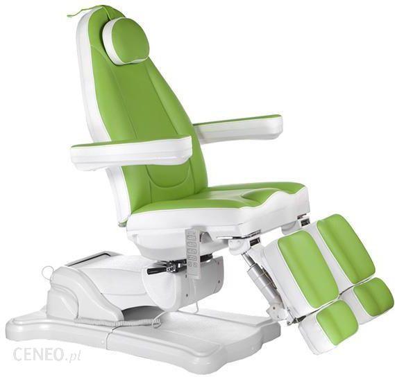 Beauty System Elektryczny Fotel Kosmetyczny Mazaro Zielony Ceny I