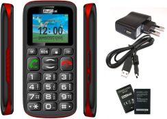 Maxcom MM428BB Czarno-Czerwony - Opinie i ceny na Ceneo.pl