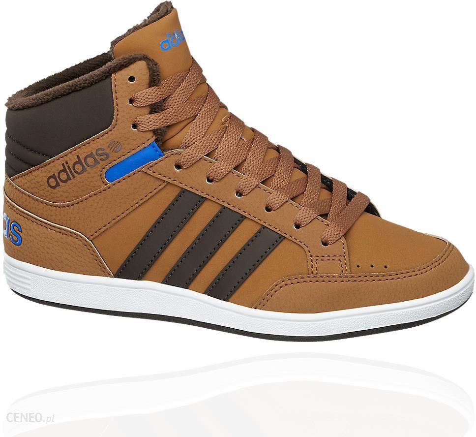 Adidas neo label buty dziecięce Hoops Mid K brąz Ceny i opinie Ceneo.pl