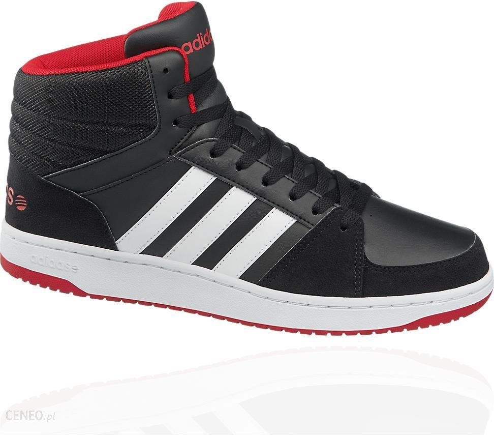 Adidas Performance buty męskie VL Hoops Mid czarno biały Ceny i opinie Ceneo.pl