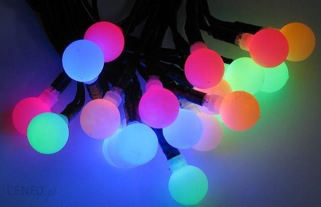 Bulinex Lampki Na Choinke Led Zewnetrzne Kuleczki Roznokolorowe 50 Szt Sr 2 3 Cm Dl 7 5 M 38 241 Opinie I Atrakcyjne Ceny Na Ceneo Pl
