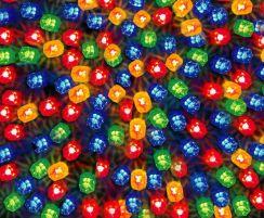 Bulinex Oświetlenie świąteczne Led Zewnętrzne Różnokolorowe 50szt 38 461