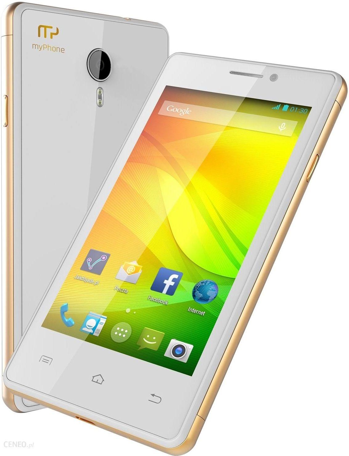 Myphone Compact Dual Sim Bialy Cena Opinie Na Ceneo Pl