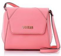 aee1a8e1b02e8 Guess Sissi mała torebka na ramię różowa - Ceny i opinie - Ceneo.pl