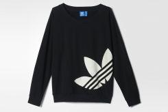 Adidas Bluza Z Dl. Rekawem Light Logo Swe