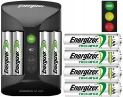 Energizer Pro Charger + Power Plus AA 4 szt. (EN-398373)