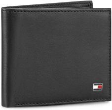 06f6297cde6b3 Mały Portfel Męski TOMMY HILFIGER - Eton Mini Cc Wallet AM0AM00655 Black  002 eobuwie