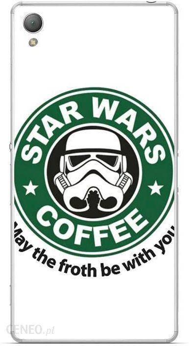 best service c1ce8 4b6d5 Funcase Hard Sony Xperia Z3 Star-Wars Coffee (Fun-Z3-HA187)