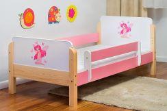 Kocot Meble łóżko Dziecięce Drewniane Babydreams Wróżka Z Motylkami