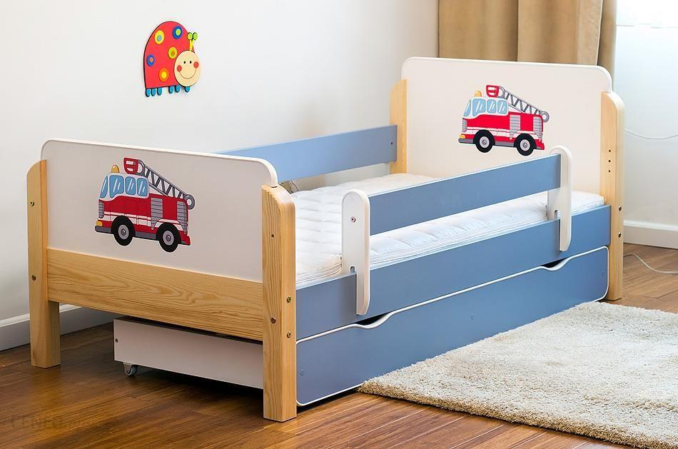 Kocot Meble łóżko Dziecięce Drewniane Babydreams Straż Pożarna