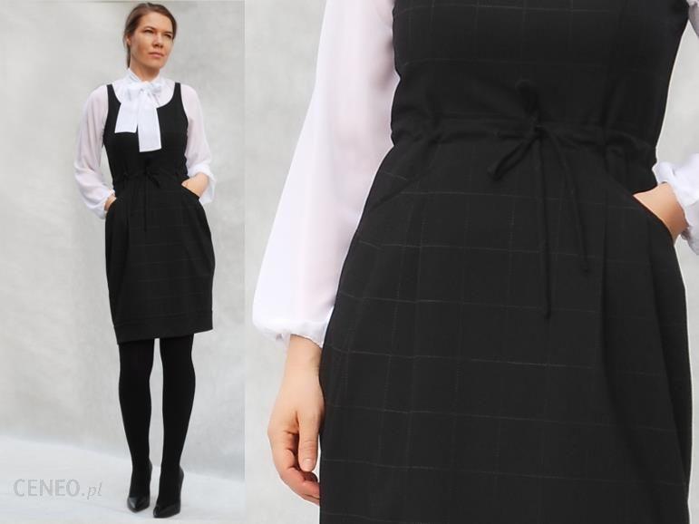ca4b8d184c Sukienka mała czarna przed kolano - Ceny i opinie - Ceneo.pl