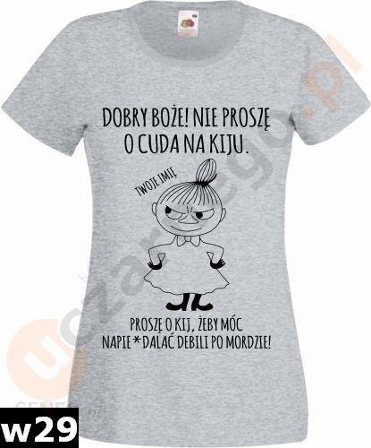 Koszulka Mala Mi Dobry Boze Nie Prosze O Cuda Ceny I Opinie Ceneo Pl