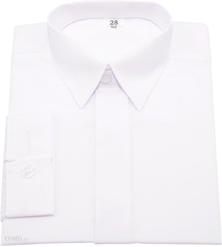 Jankes Moda Chłopięca Biała Koszula Wizytowa Rozmiar 146  fk3Sn