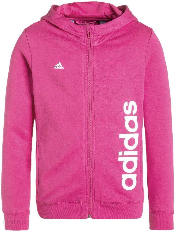 62216c6d8f940c Adidas Performance ESSENTIALS Bluza rozpinana pink/white - Ceny i ...