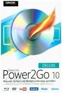 cyberlink power2go 10 deluxe
