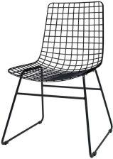 Hk Living Krzesło Metalowe Wire Czarne Fur0023 Opinie I Atrakcyjne