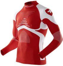 1abcadcd1ae5eb X Bionic Koszulka Energy Accumulator Evo Patriot Edition Szwajcaria Czerwony