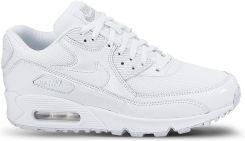 newest 7614c baf57 Buty Wmns Nike Air Max 90 Premium 443817-100 białe - zdjęcie 1