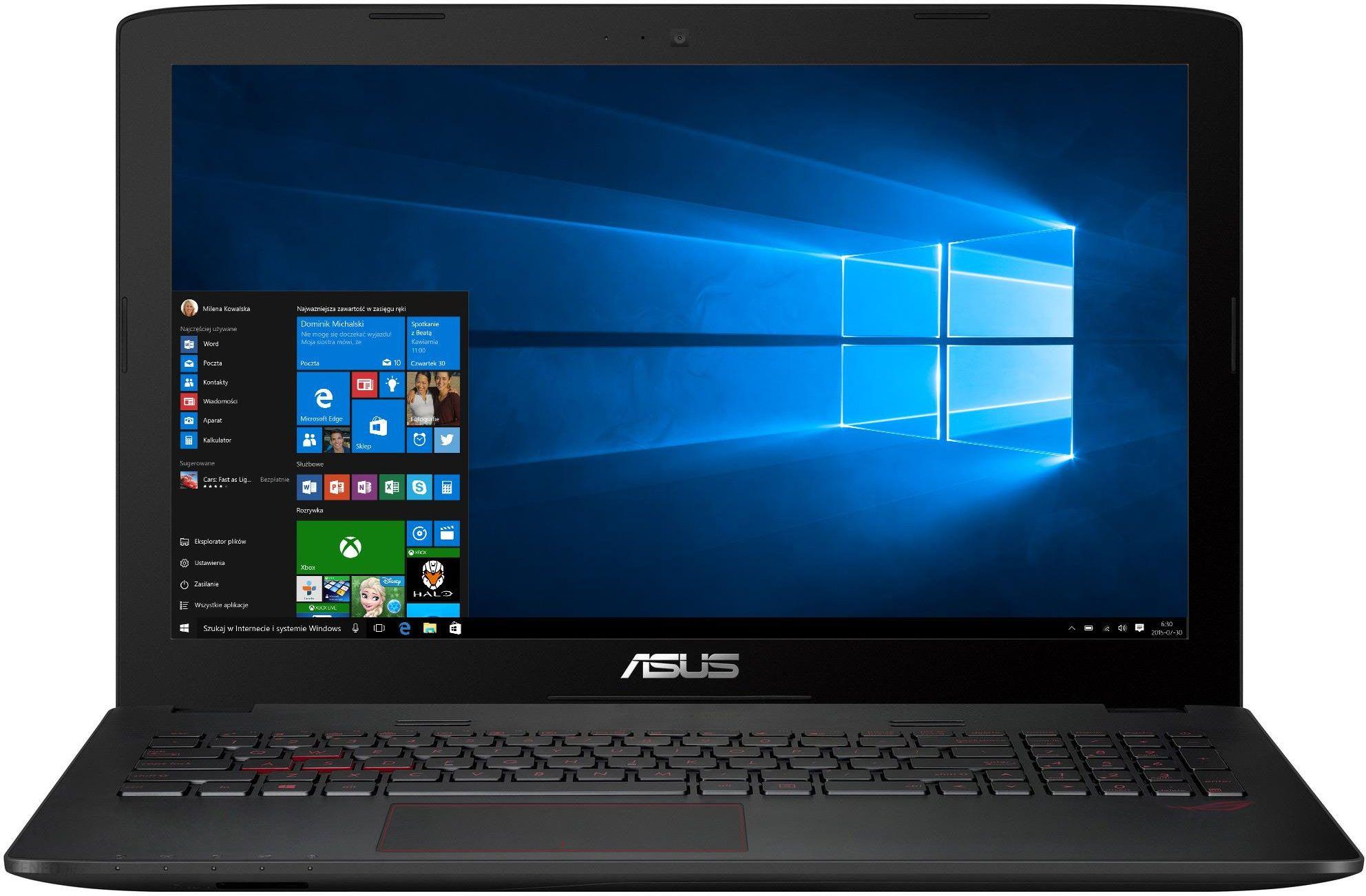 Laptop ASUS GL552VW XO169T zdjęcie 1