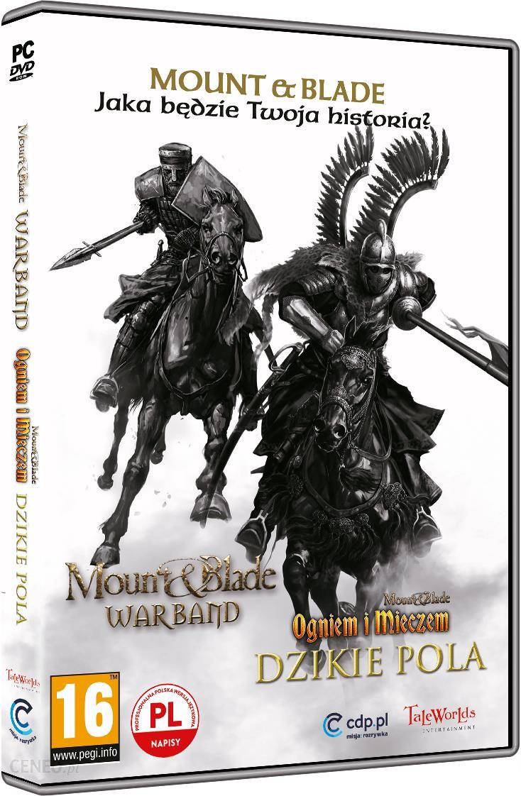Mount Blade Pakiet Warband Ogniem I Mieczem Dzikie Pola Gra Pc Ceneo Pl