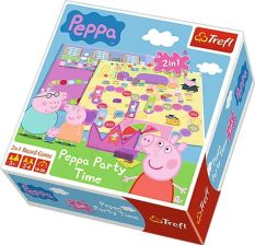ŚWINKA PEPPA PARTY TIME 2w1