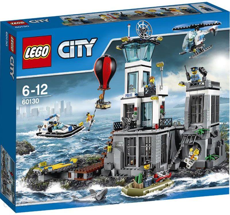 Klocki Lego City Więzienna Wyspa 60130 Ceny I Opinie Ceneopl
