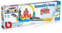 Bburago Launch'N Loop Playset Street Fire (18-30283)