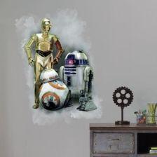 Naklejka Scienna Star Wars Roboty Ceny I Opinie Ceneo Pl