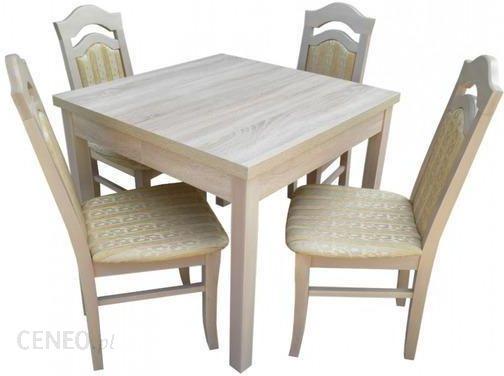 Zeg Wil Stół St41 90x90 4 Krzesła Kr37 Opinie I Atrakcyjne Ceny