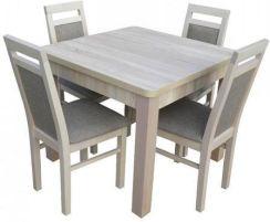 Zeg Wil Stół W2 90x90 190 4 Krzesła Kr38 Opinie I Atrakcyjne