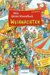 Wimmelbuch Weihnachten.Mein Kleines Wimmelbuch Weihnachten