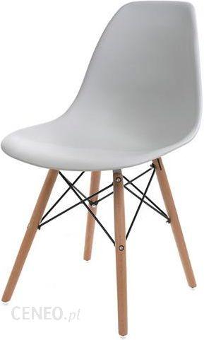 Imaggio Krzesło Plastikowe Mindy Białe