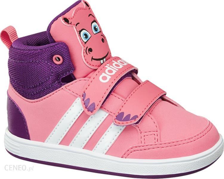 buty dziecięce adidas hoops animal mid inf