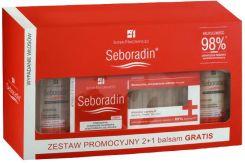seboradin zestaw przeciw wypadaniu włosów 2+1