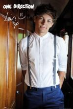 One Direction Louis Tomlinson portret - plakat