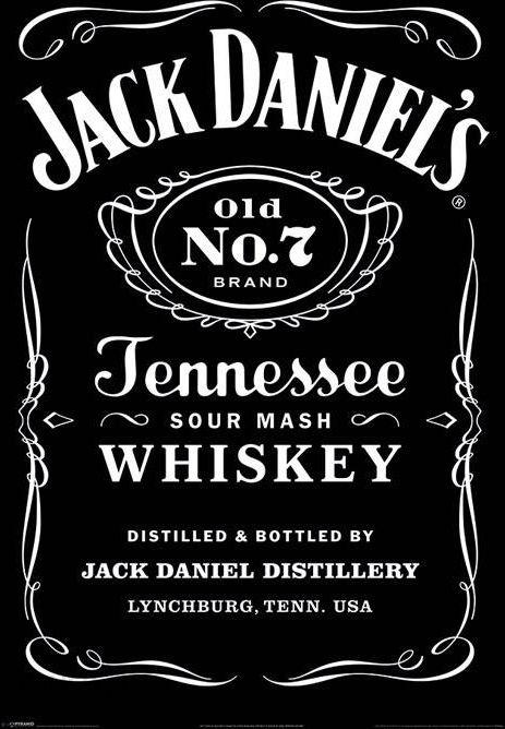 1739bce301660e Jack Daniels Etykieta - plakat - Opinie i atrakcyjne ceny na Ceneo.pl