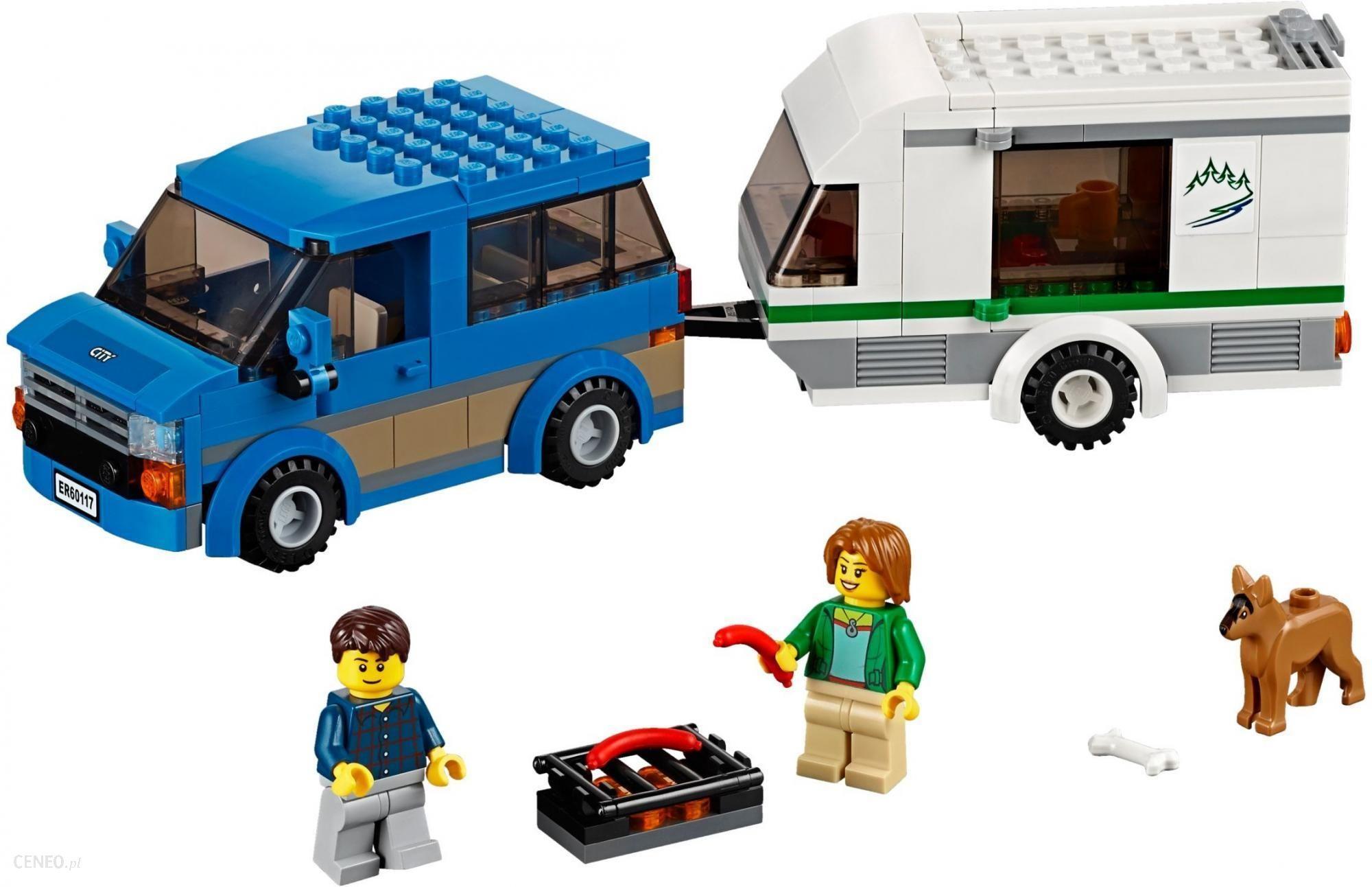Klocki Lego City Van Z Przyczepą Kempingową 60117 Ceny I Opinie
