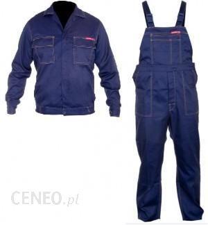 6d6d675bf5d114 Lahti Pro LPQK Ubranie robocze granatowe komplet bluza plus ogrodniczki  QUEST rozm. S LPQK64S -