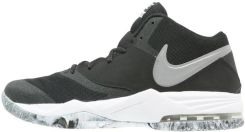 Nike Performance AIR MAX EMERGENT Obuwie do koszykówki blackmetallic silverwhiteanthracite