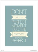 Art print Perfect Moment