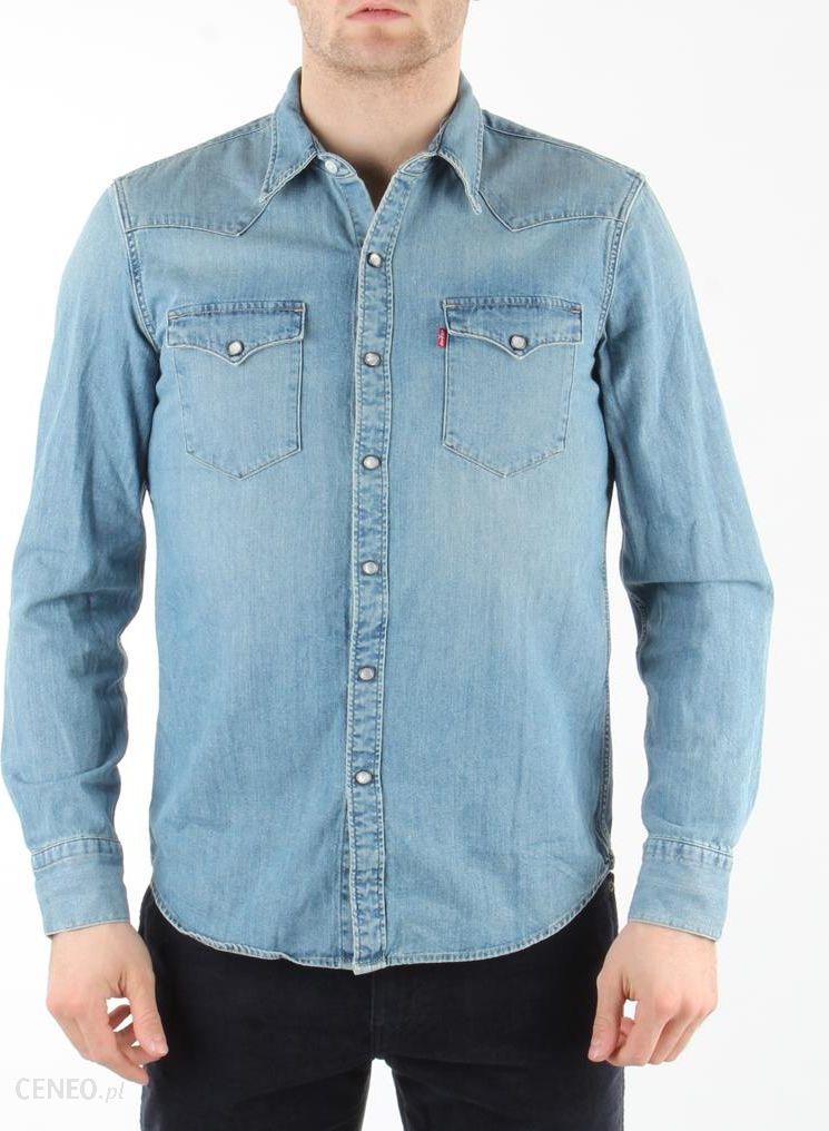 5990ac70e Levi's® Long-Sleeve Barstow Western Shirt Red Cast Stone - Ceny i ...