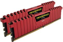 Corsair 8GB DDR4 Vengeance LPX Red (CMK8GX4M2A2400C14R)