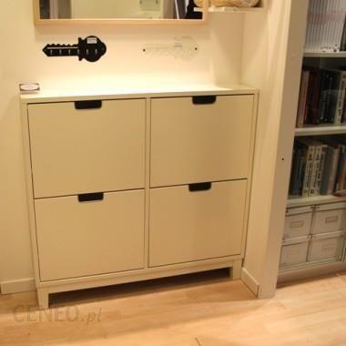 ikea st ll szafka na buty bia y opinie i atrakcyjne ceny na. Black Bedroom Furniture Sets. Home Design Ideas