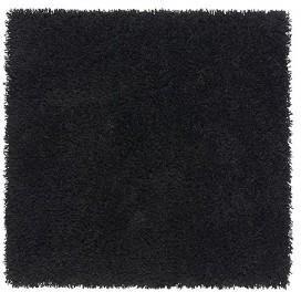 Ikea Hampen Dywan Z Długim Włosiem Czarny 20203780